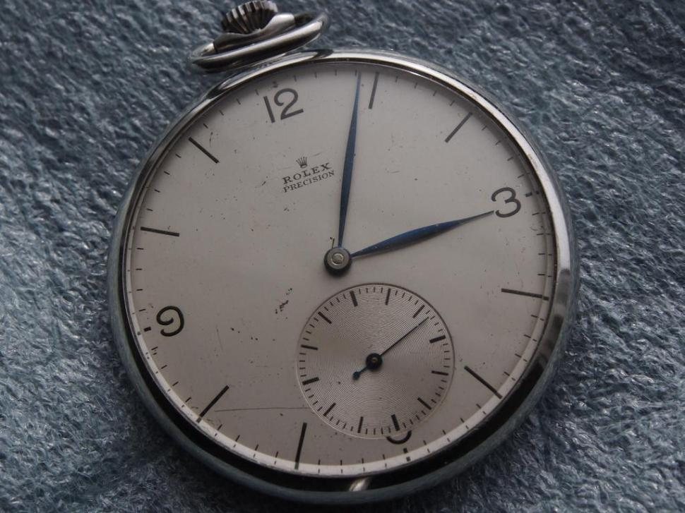 Rolex Precision pocket watch from 1936