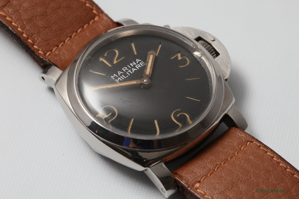 Panerai 6152 1, 124949, damaged rehaut