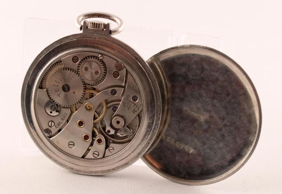 Tellus pocket watch from 1932 with Cal. 622