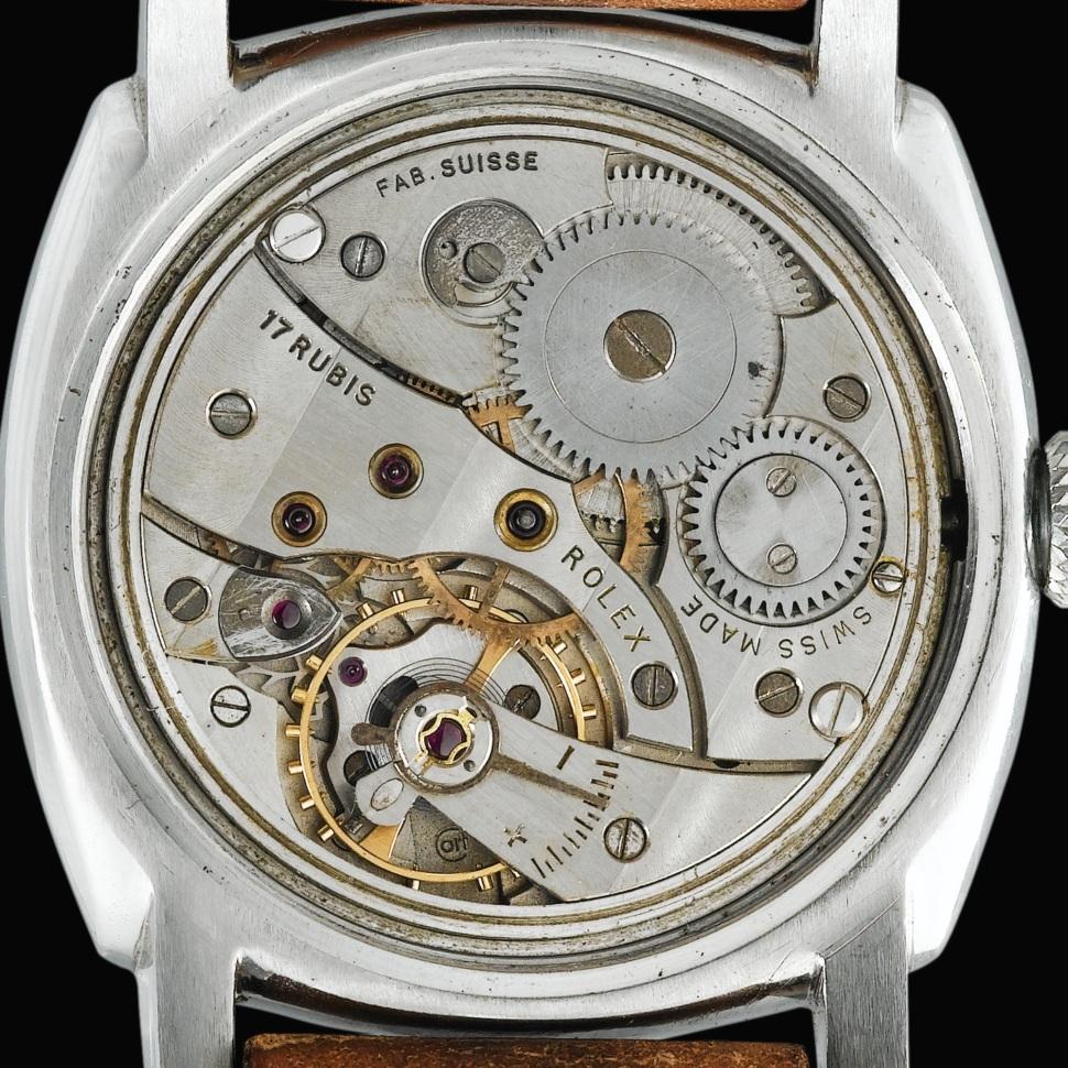 Panerai 6152 1, case number 124607, Rolex 618 Type 4