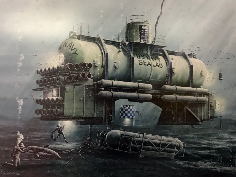 171023-man-in-the-sea-museum-sealab3-painting