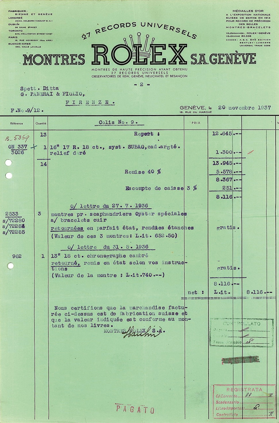 190723-rolex-2533-invoice-for-panerai-20-november-1937