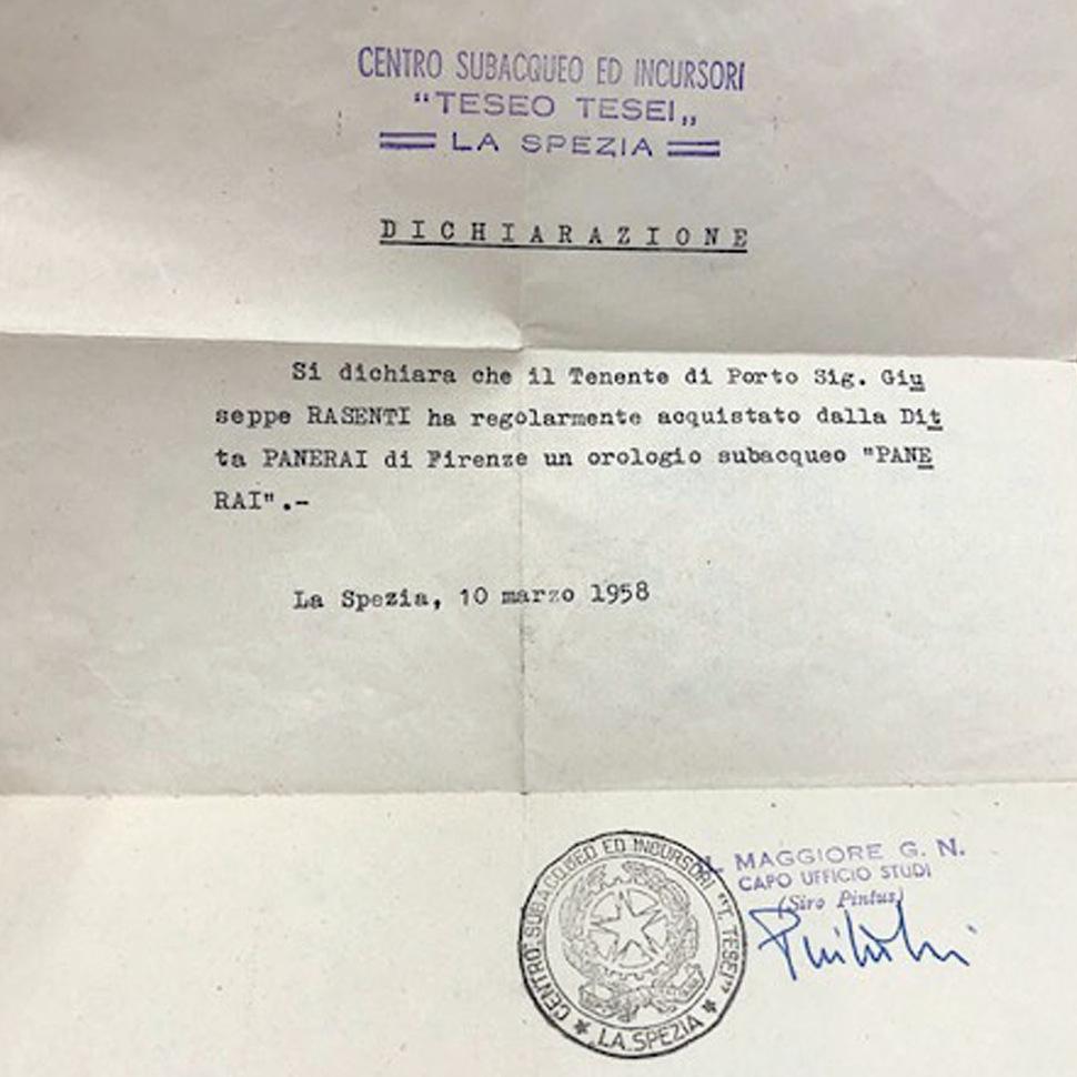 191130-letter-centro-subacqueo-ed-incursori-teseo-tesei-6152-1-radiomir-march-1958