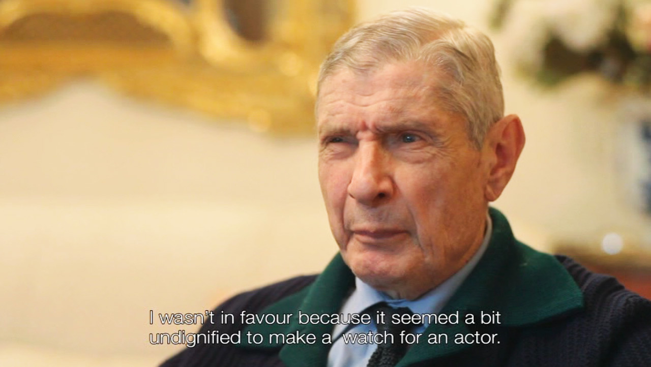 """Dino Zei: """" I wasn't in favour because it seemed a bit undignified to make a watch for an actor."""""""