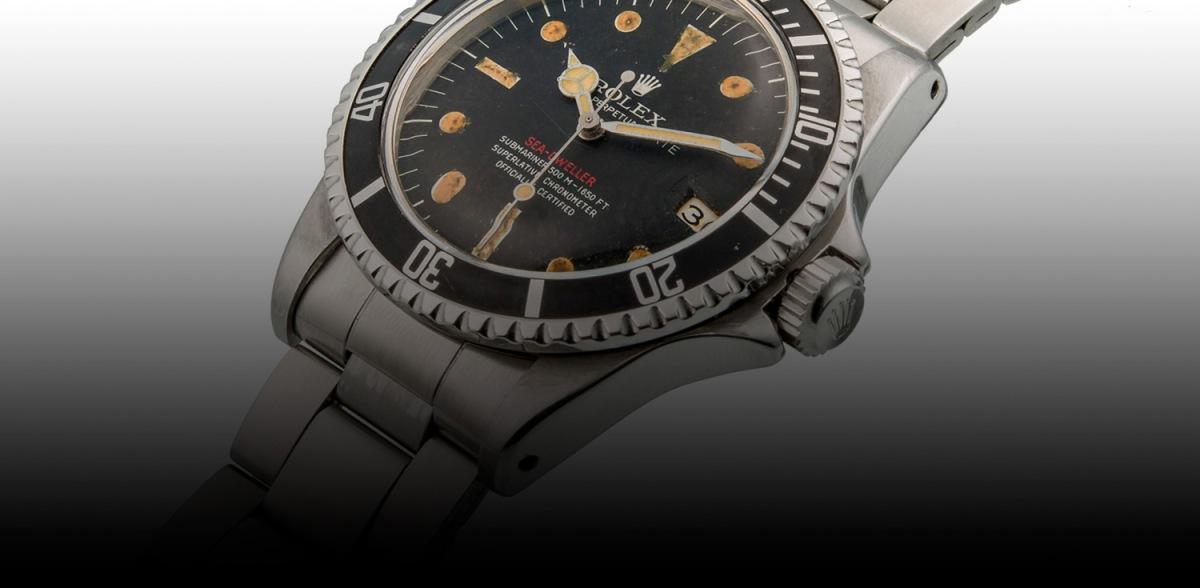 Monochrome Promoting a Fake Rolex Single Red Sea-Dweller